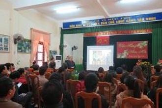 BQL VQG Phong Nha - Kẻ Bàng tổ chức Hội thảo về Hệ thống hang động khu vực Phong Nha - Kẻ Bàng